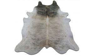 Light Brindle Cowhide Rug Size: 8.5' X 7' HUGE! Light Brindle Cowhide Rug M-034