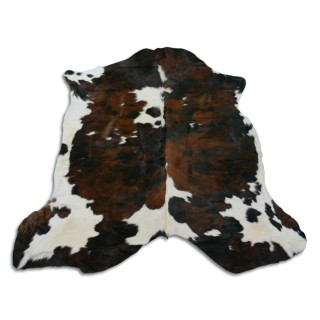 Colombian Cowhide Rugs Size: ~6' x 6'