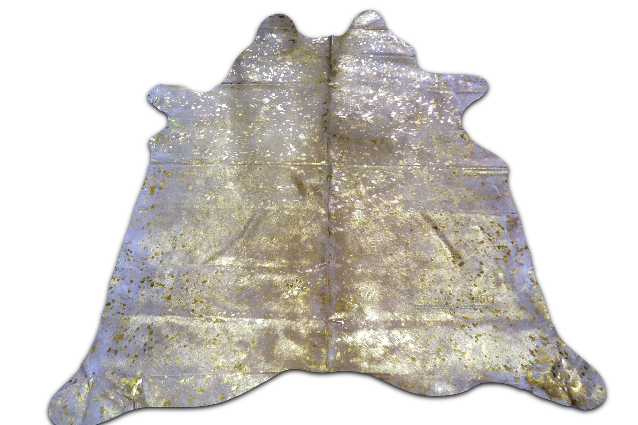 Metallic Cowhide Rugs