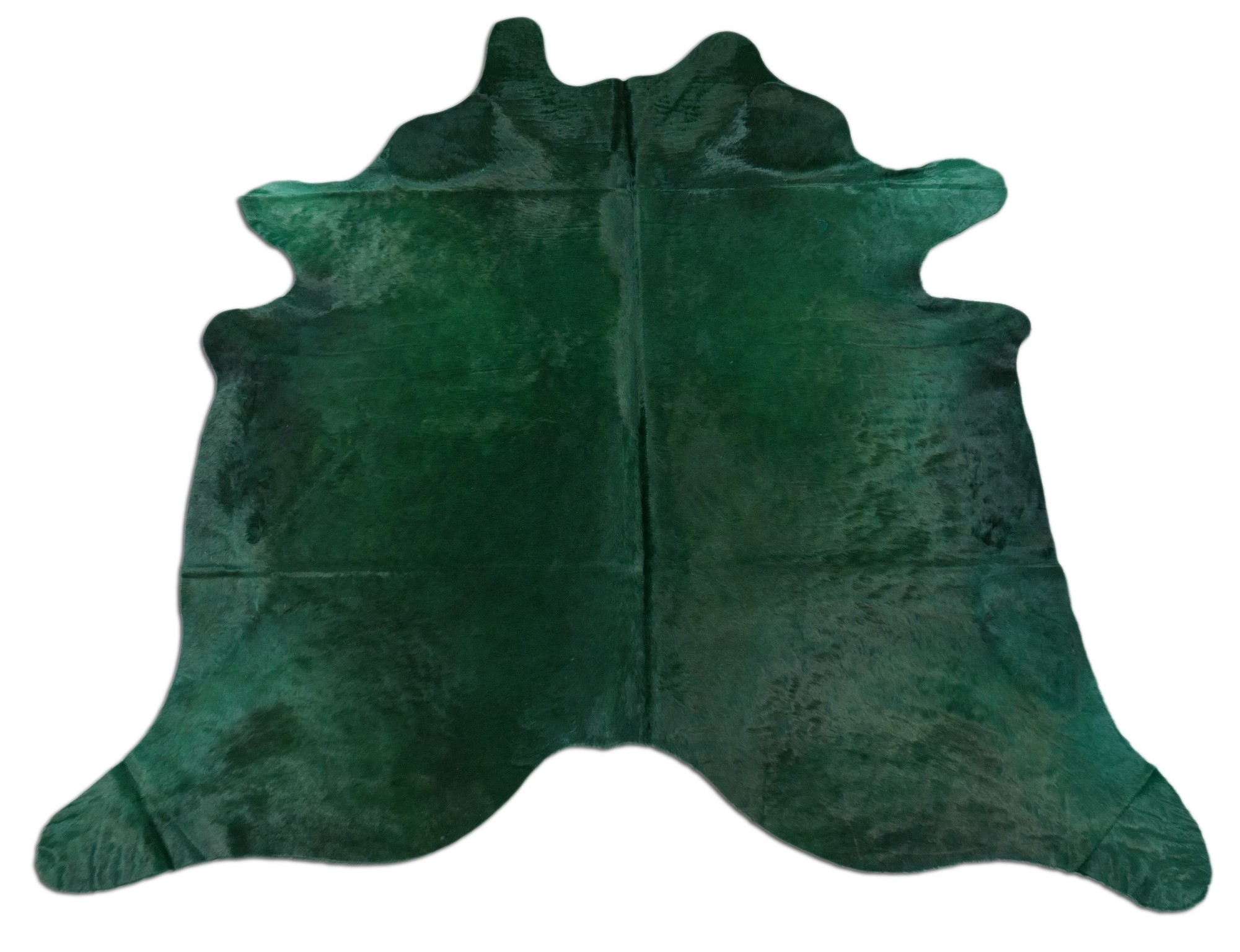 Picture of: Dyed Emerald Green Cowhide Rug