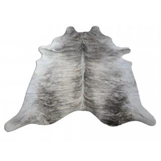 Grey Brindle Cowhide Rugs Size ~ 7 X 7 ft